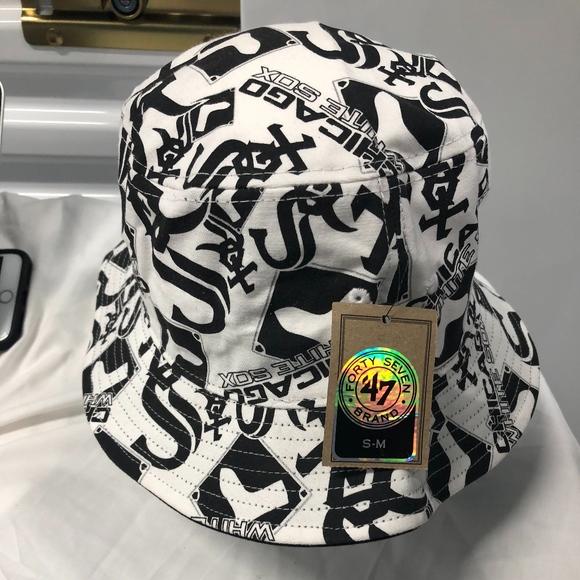 7794b0f1 47 Accessories   White Sox Bravado Bucket Hats By Brand   Poshmark